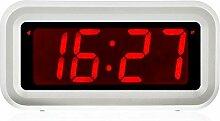 Jnday Digital LED Alarm Uhr mit Big 3 cm LED Time