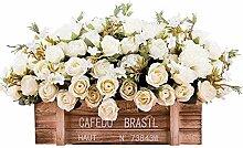 Jnseaol DSPOPEN68 Kunstblumen Künstliche Fliese