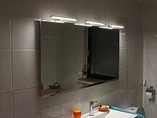 Joana Led Leuchtspiegel Beleuchteter Badspiegel Mit Steilfacette 140x70cm und 3 Lampen in 5mm Stärke