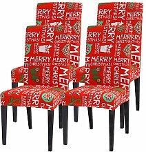 Jodimitty Weihnachten Tischdecke Stuhlhussen Set