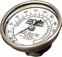 Joes Barbeque Smoker - Thermometer aus Edelstahl