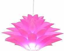 Joeyhome DIY Moderne pinecone Pendelleuchte kreative lily Lotus neuartige Led e27 35/45/55 cm iq puzzle Lampe weiß, Durchmesser 35 cm