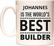 JOHANNES IS THE WORLD'S BEST BUILDER Becher