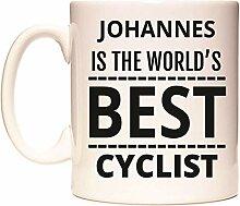 JOHANNES IS THE WORLD'S BEST CYCLIST Becher