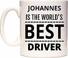 JOHANNES Is The World's BEST Driver Becher von