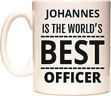 JOHANNES IS THE WORLD'S BEST OFFICER Becher