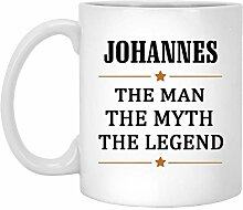Johannes Tee Cup Large The Man The Myth The Legend