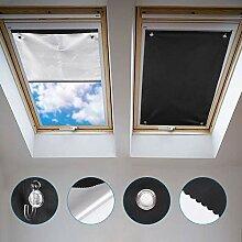 Johgee Dachfenster Rollo Thermo Sonnenschutz