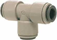 John Guest 3/20,3cm X3/20,3cm x1/10,2cm reduziert Ast Tee grau Acetal Schnellverbinder RO Di Armatur Umkehrosmose