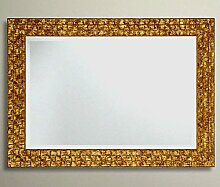 John Lewis Gold Mosaik Wandspiegel Holz Rahmen