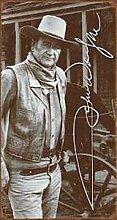 John Wayne Signature Vintage-Blechschild,
