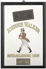 Johnnie Walker Spiegel / Wandspiegle mit schwarzer