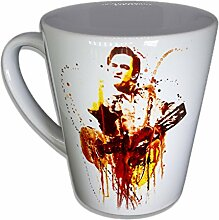 Johnny Cash - Handarbeit Designer Tasse aus