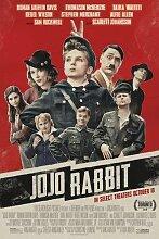JoJo Rabbit – Film Poster Plakat Drucken Bild -