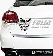 Joker Aufkleber Sticker von FINEST-FOLIA