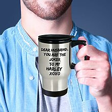 Joker Dear Husband Mug Travel Mug Geschenke für