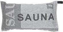 JOKIPIIN Sauna Kissen aus Leinen SAUNA made in Finland
