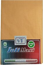Joli Bettlaken 100% Baumwolle Doppelbett cm 270x 300–21Farben–Made in Italy 57Fäden pro cm² Vanille