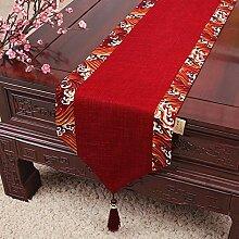 Joliann Tischläufer Baumwolle und Leinen Welle