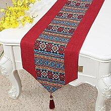 Joliann Tischläufer Bohemian Stil Baumwolle und