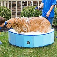 Jolitac Faltbarer Hundepool Swimmingpool Hunde