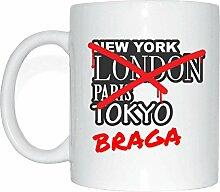 JOllify BRAGA Kaffeetasse Tasse Becher Mug M3903 -