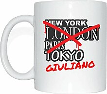 JOllify GIULIANO Kaffeetasse Tasse Becher Mug M5392 - Farbe: weiss - Design 3: Graffiti Streetart New York