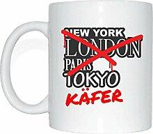 JOllify KÄFER Kaffeetasse Tasse Becher Mug M6301