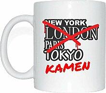 JOllify KAMEN Kaffeetasse Tasse Becher Mug M1149 -