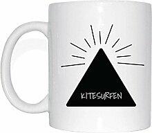 JOllify KITESURFEN Kaffeetasse Tasse Becher Mug