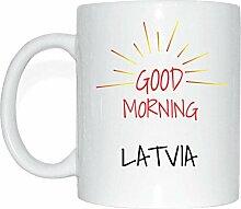 JOllify LATVIA Kaffeetasse Tasse Becher Mug M4776
