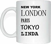 JOllify LINDA Kaffeetasse Tasse Becher Mug M5638 -