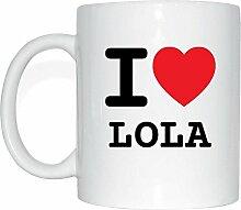 JOllify LOLA Kaffeetasse Tasse Becher Mug M5652 -