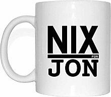 JOllify NIX FÜR JON Tasse Becher Mug Geschenk MNIX5509