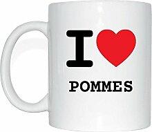 JOllify POMMES Kaffeetasse Tasse Becher Mug M6136