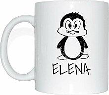 JOllipets ELENA Namen Geschenk Kaffeetasse Tasse