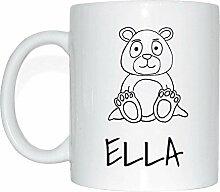 JOllipets ELLA Namen Geschenk Kaffeetasse Tasse