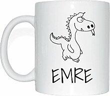 JOllipets EMRE Namen Geschenk Kaffeetasse Tasse