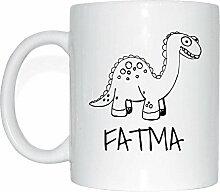 JOllipets FATMA Namen Geschenk Kaffeetasse Tasse