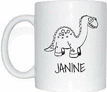 JOllipets JANINE Namen Geschenk Kaffeetasse Tasse