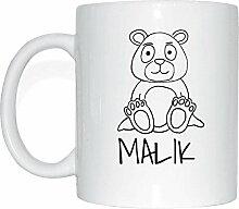JOllipets MALIK Namen Geschenk Kaffeetasse Tasse