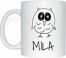 JOllipets MILA Namen Geschenk Kaffeetasse Tasse