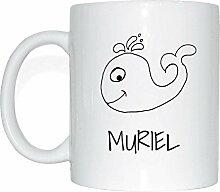 JOllipets MURIEL Namen Geschenk Kaffeetasse Tasse