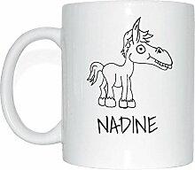 JOllipets NADINE Namen Geschenk Kaffeetasse Tasse