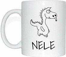 JOllipets NELE Namen Geschenk Kaffeetasse Tasse