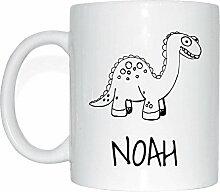 JOllipets NOAH Namen Geschenk Kaffeetasse Tasse