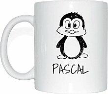 JOllipets PASCAL Namen Geschenk Kaffeetasse Tasse