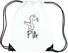 JOllipets PIA Turnbeutel Sport Tasche PGYM5851 – Design: Drache