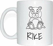 JOllipets RIKE Namen Geschenk Kaffeetasse Tasse