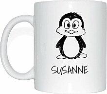 JOllipets SUSANNE Namen Geschenk Kaffeetasse Tasse